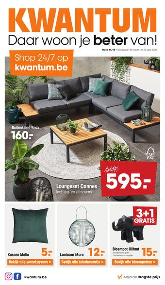 Kwantum reclame folder (geldig t/m 13-04)