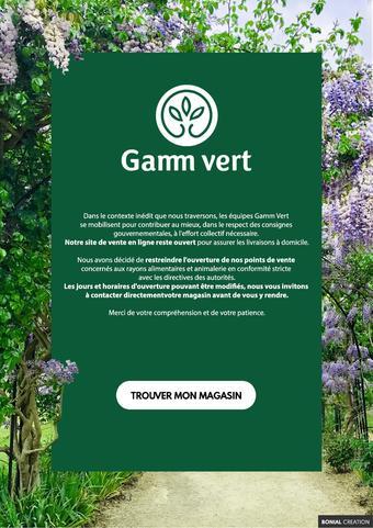 Gamm vert catalogue publicitaire (valable jusqu'au 01-05)