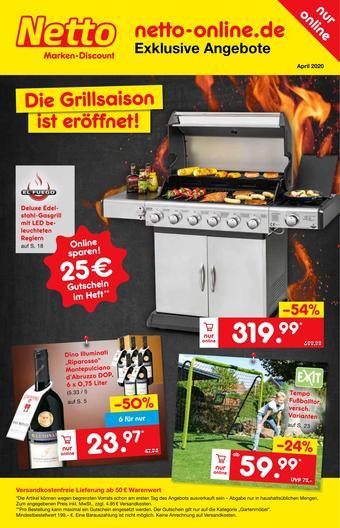 Netto Marken-Discount Prospekt (bis einschl. 30-04)