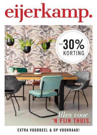 Eijerkamp reclame folder (geldig t/m 26-04)