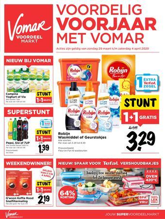 Vomar reclame folder (geldig t/m 04-04)