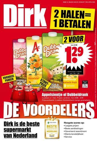 Dirk reclame folder (geldig t/m 04-04)