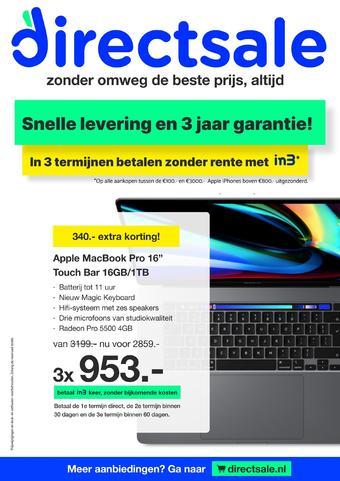 DirectSale reclame folder (geldig t/m 04-04)