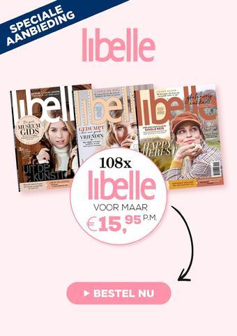 Libelle reclame folder (geldig t/m 31-03)