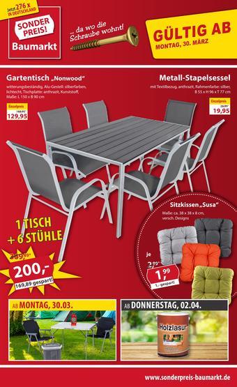 Sonderpreis Baumarkt Prospekt (bis einschl. 04-04)