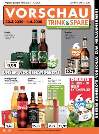 Trink und Spare Prospekt (bis einschl. 04-04)