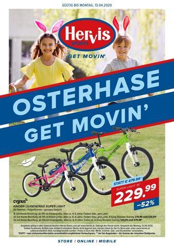 Hervis Werbeflugblatt (bis einschl. 13-04)