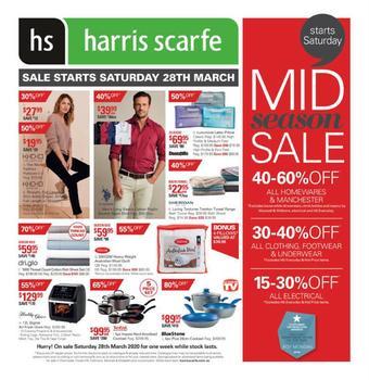 Harris Scarfe catalogue (valid until 04-04)
