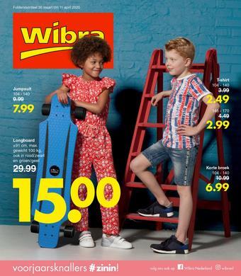 Wibra reclame folder (geldig t/m 11-04)