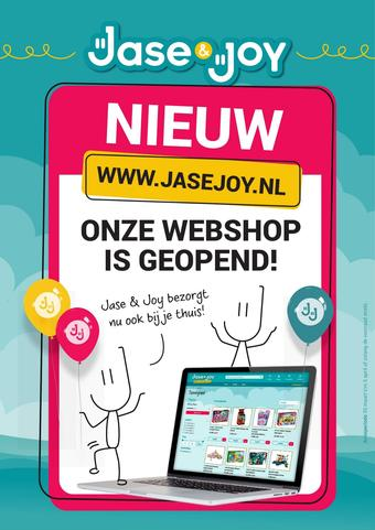 Jase & Joy reclame folder (geldig t/m 05-04)
