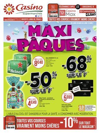 Casino Supermarchés catalogue publicitaire (valable jusqu'au 13-04)