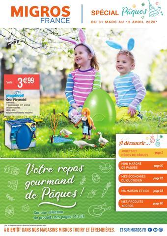 Migros catalogue publicitaire (valable jusqu'au 12-04)