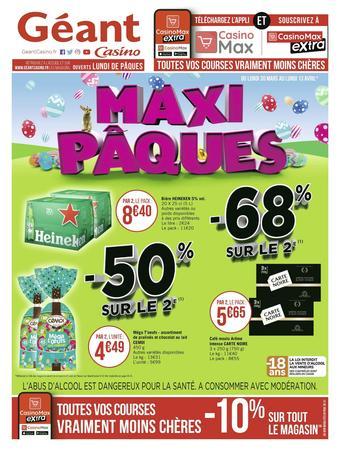 Géant Casino catalogue publicitaire (valable jusqu'au 13-04)