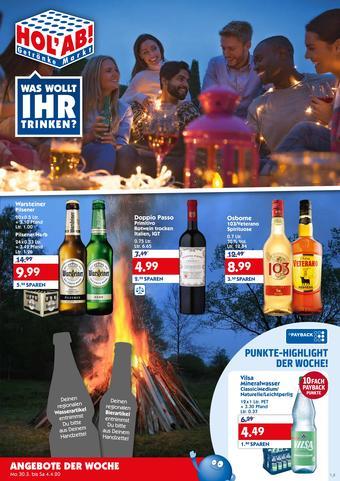 Hol'ab Getränkemarkt Prospekt (bis einschl. 04-04)