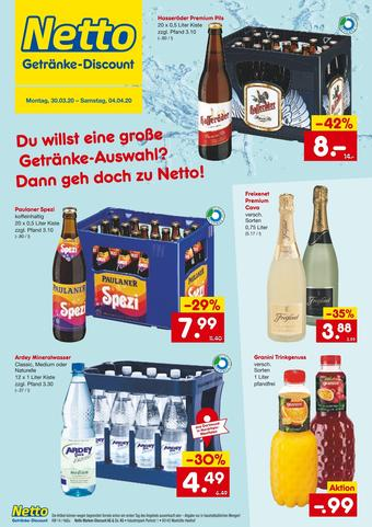 Netto Getränke Discount Prospekt (bis einschl. 04-04)