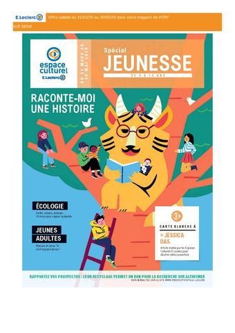 Espace Culturel E.Leclerc catalogue publicitaire (valable jusqu'au 30-05)