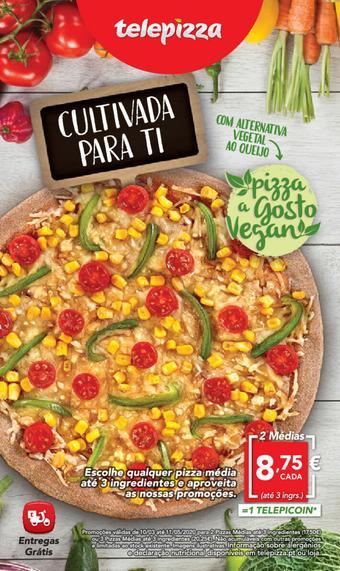 Telepizza folheto promocional (válido de 10 ate 17 11-05)
