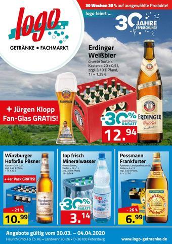 Logo Getränkemarkt Prospekt (bis einschl. 04-04)