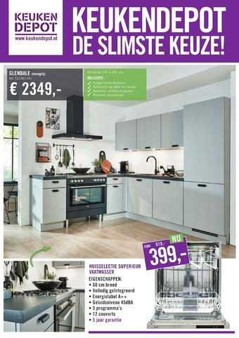 Keukendepot reclame folder (geldig t/m 05-04)