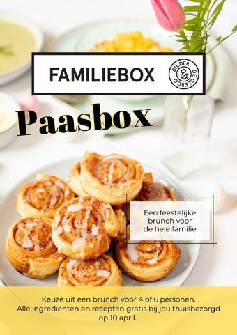 De Familiebox reclame folder (geldig t/m 04-04)