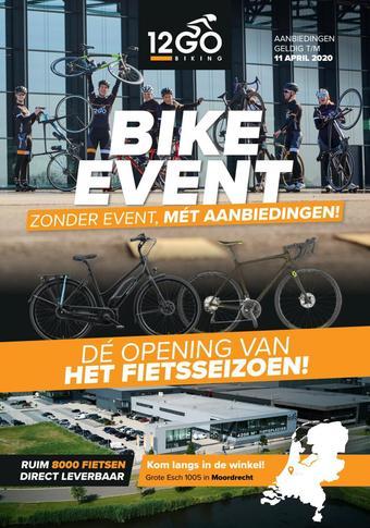 12GO Biking reclame folder (geldig t/m 11-04)