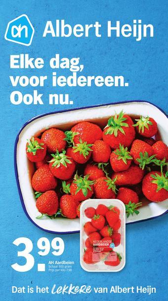 Albert Heijn reclame folder (geldig t/m 05-04)