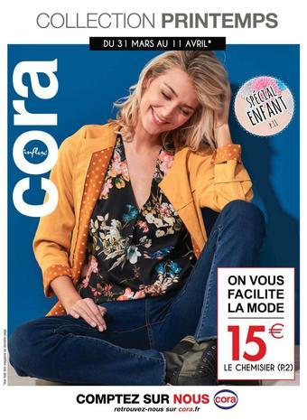 Cora catalogue publicitaire (valable jusqu'au 11-04)