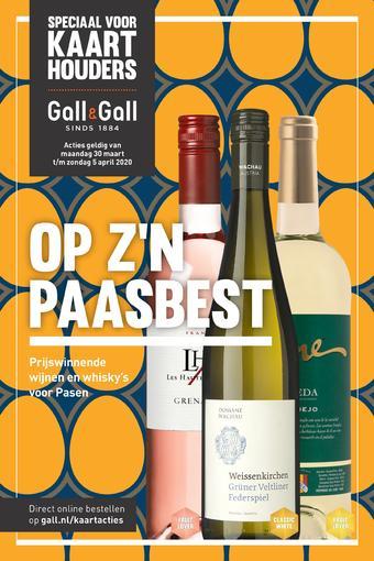 Gall & Gall reclame folder (geldig t/m 05-04)