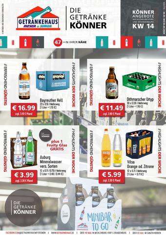Getränkehaus Prospekt (bis einschl. 04-04)
