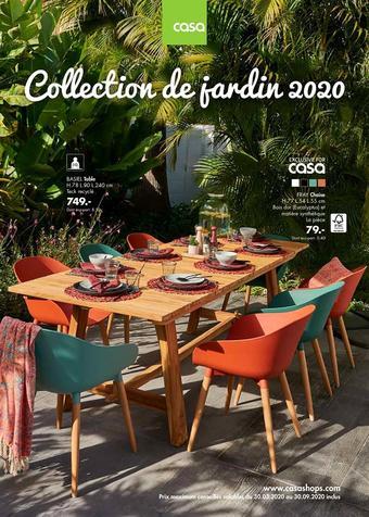 Casa catalogue publicitaire (valable jusqu'au 30-09)