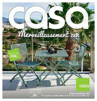 Casa catalogue publicitaire (valable jusqu'au 26-04)
