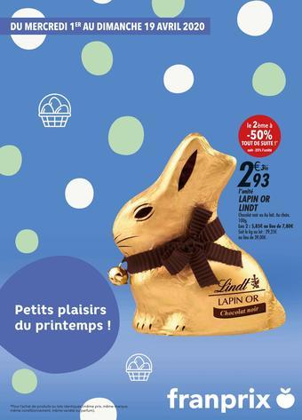Franprix catalogue publicitaire (valable jusqu'au 19-04)