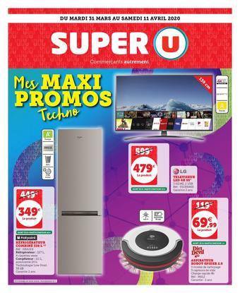 Super U catalogue publicitaire (valable jusqu'au 11-04)