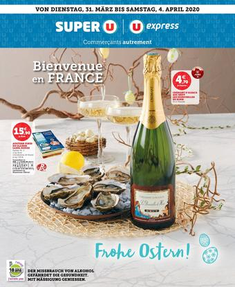 Super U catalogue publicitaire (valable jusqu'au 04-04)
