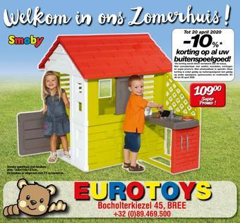 Eurotoys reclame folder (geldig t/m 20-04)