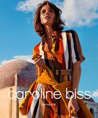 Caroline Biss reclame folder (geldig t/m 30-06)