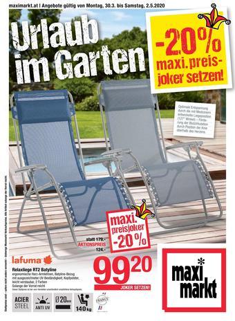 Maximarkt Werbeflugblatt (bis einschl. 02-05)