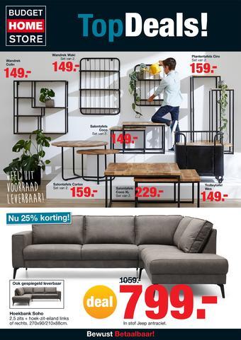 Budget Home Store reclame folder (geldig t/m 05-04)