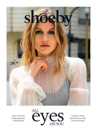 Shoeby reclame folder (geldig t/m 26-04)