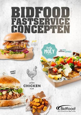 Bidfood reclame folder (geldig t/m 30-04)