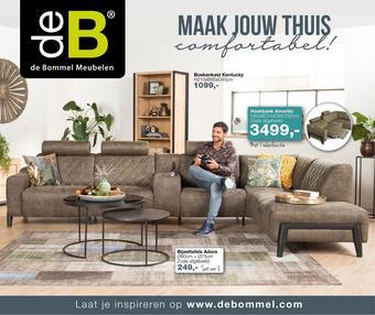 De Bommel Meubelen reclame folder (geldig t/m 17-05)