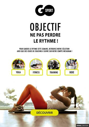 Go Sport catalogue publicitaire (valable jusqu'au 25-04)