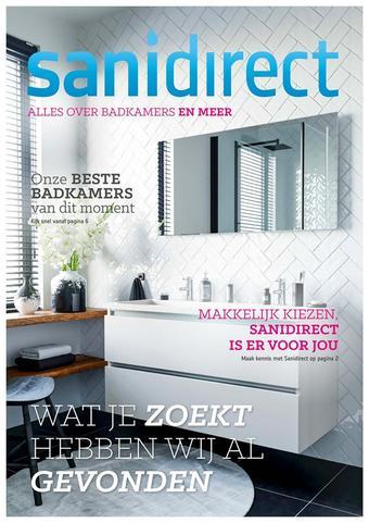 Sanidirect reclame folder (geldig t/m 27-07)