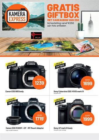 Kamera Express reclame folder (geldig t/m 30-04)