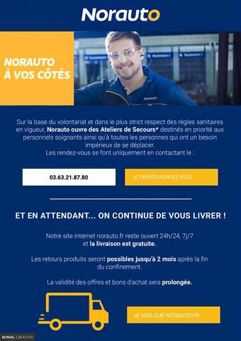 Norauto catalogue publicitaire (valable jusqu'au 20-04)