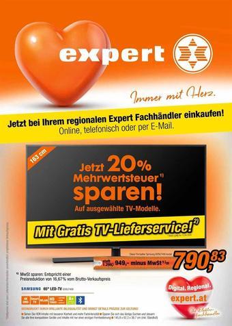 Expert Werbeflugblatt (bis einschl. 13-04)