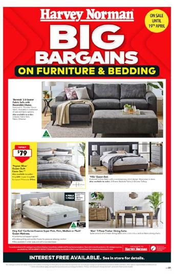 Harvey Norman catalogue (valid until 19-04)