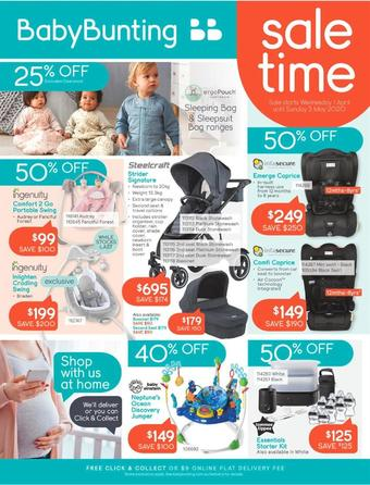 Baby Bunting catalogue (valid until 03-05)