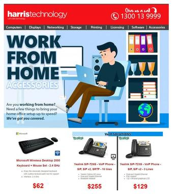 Harris Technology catalogue (valid until 12-04)