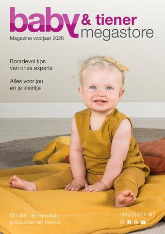 Baby & Tiener reclame folder (geldig t/m 18-04)